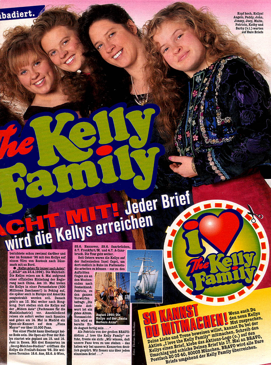 Tv And Internet >> kelly-family.pl | The Kelly Family Unofficial Fansite